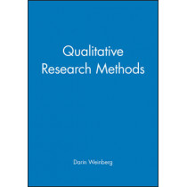 Qualitative Research Methods by Darin Weinberg, 9780631217619