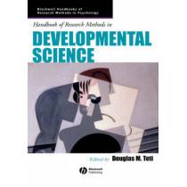 Handbook of Research Methods in Developmental Science by Douglas M. Teti, 9780631222613