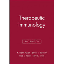 Therapeutic Immunology by K.Frank Austen, 9780632043590