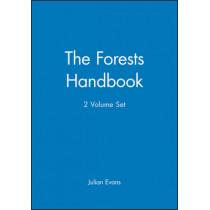 The Forests Handbook, 2 Volume Set by Julian Evans, 9780632048182