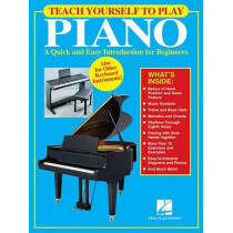 Teach Yourself to Play Piano by Hal Leonard Corp, 9780634069796