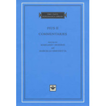 Commentaries: Vol 1: Books I-II by Pius II, 9780674011649