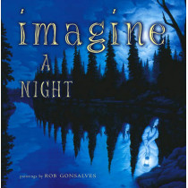 Imagine a Night by Sarah L. Thomson, 9780689852183