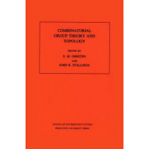 Combinatorial Group Theory and Topology. (AM-111), Volume 111 by S.M. Gersten, 9780691084107