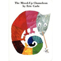 The Mixed-Up Chameleon Board Book by Eric Carle, 9780694011476