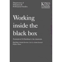 Working Inside the Black Box: Assessment for Learning in the Classroom by Paul Black, 9780708713792
