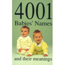 4001 Babies' Names and Their Meanings by James Glennon, 9780709024514