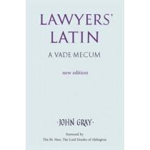 Lawyers Latin by John Gray, 9780709082774
