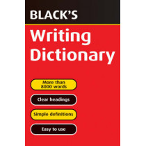 Black's Writing Dictionary by T.J. Hulme, 9780713665123