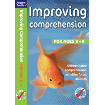 Improving Comprehension 8-9 by Andrew Brodie, 9780713689808