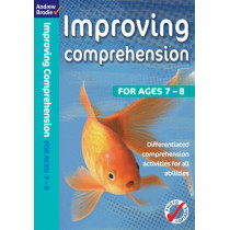 Improving Comprehension 7-8 by Andrew Brodie, 9780713689815
