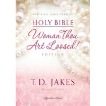 NKJV, Woman Thou Art Loosed, Hardcover, Red Letter Edition: Holy Bible, New King James Version by T. D. Jakes, 9780718003715
