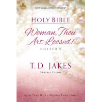 NKJV, Woman Thou Art Loosed, Paperback, Red Letter Edition: Holy Bible, New King James Version by T. D. Jakes, 9780718003920