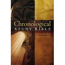 NKJV, The Chronological Study Bible, Leathersoft, Brown/Navy: Holy Bible, New King James Version, 9780718020682