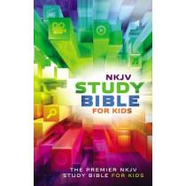NKJV, Study Bible for Kids, Hardcover, Multicolor: The Premiere NKJV Study Bible for Kids, 9780718032456