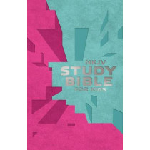 NKJV, Study Bible for Kids, Leatherflex, Pink/Teal: The Premiere NKJV Study Bible for Kids, 9780718032470