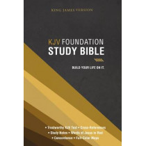 KJV, Foundation Study Bible, Hardcover: Holy Bible, King James Version, 9780718037321