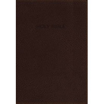 KJV, Foundation Study Bible, Leathersoft, Brown, Red Letter Edition, 9780718037406