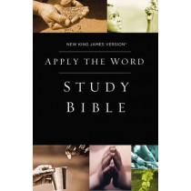 NKJV, Apply the Word Study Bible, Hardcover, Red Letter Edition: Live in His Steps, 9780718042523