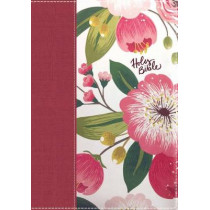 The NKJV, Woman's Study Bible, Cloth over Board, Pink Floral, Full-Color, Red Letter: Receiving God's Truth for Balance, Hope, and Transformation by Dorothy Patterson, 9780718086831