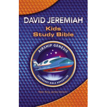 NKJV, Airship Genesis Kids Study Bible, Hardcover by David Jeremiah, 9780718086886