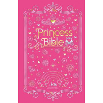ICB, Princess Bible, Pink, Hardcover, with Coloring Sticker Book by Thomas Nelson, 9780718090999