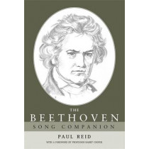 The Beethoven Song Companion by Paul Reid, 9780719075711