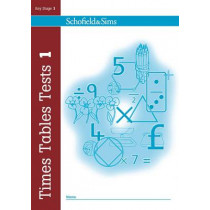 Times Tables Tests Book 1 by Hilary Koll, 9780721711348