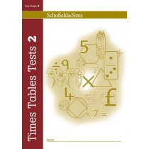 Times Tables Tests Book 2 by Hilary Koll, 9780721711362