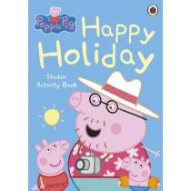 Peppa Pig: Happy Holiday Sticker Activity Book, 9780723271680