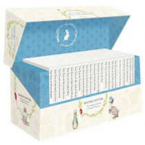 The World of Peter Rabbit - The Complete Collection of Original Tales 1-23 White Jackets by Beatrix Potter, 9780723275923