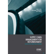 Supply Chain Management for Refurbishment: Lessons from High Street Retailing by Steven P. Male, 9780727732422