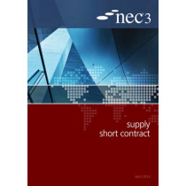 NEC3 Supply Short Contract (SSC) by NEC, 9780727758972