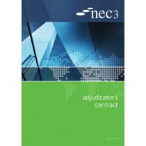 NEC3 Adjudicator's Contract (AC) by NEC, 9780727758996