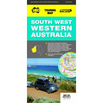 South-West Western Australia Map 682 5th ed by UBD Gregory's, 9780731927418