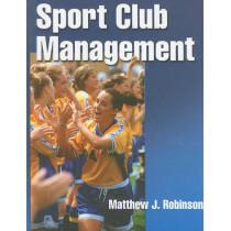 Sport Club Management by Matthew J. Robinson, 9780736075961