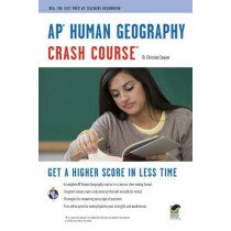 Ap(r) Human Geography Crash Course Book + Online by Dr Christian Sawyer, 9780738609324