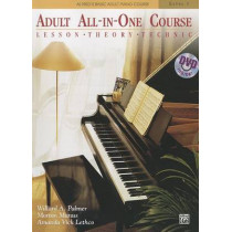 Alfred's Basic Adult All-In-One Course, Level 1: Lesson, Theory, Technic by Willard A Palmer, 9780739082423