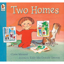 Two Homes by Claire Masurel, 9780744589252