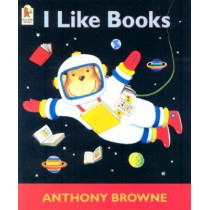 I Like Books by Anthony Browne, 9780744598575