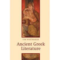 Ancient Greek Literature by Tim Whitmarsh, 9780745627922