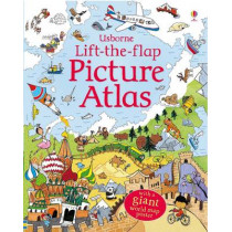 Lift the Flap Picture Atlas by Alex Frith, 9780746098479