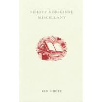 Schott's Original Miscellany by Ben Schott, 9780747563204