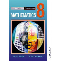 New National Framework Mathematics 8 Core Pupil's Book by M. J. Tipler, 9780748767533