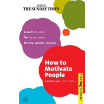 How to Motivate People by Patrick Forsyth, 9780749459994