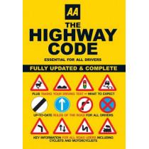 AA the Highway Code by AA Publishing, 9780749552572