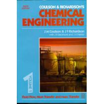 Chemical Engineering Volume 1: Fluid Flow, Heat Transfer and Mass Transfer by J. R. Backhurst, 9780750644440