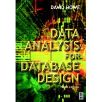 Data Analysis for Database Design by David Howe, 9780750650861