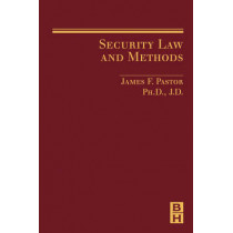 Security Law and Methods by James Pastor, 9780750679947