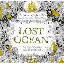 Lost Ocean: An Inky Adventure & Colouring Book by Johanna Basford, 9780753557150